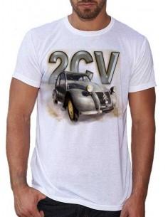 T-shirt homme Voiture française 2 CV