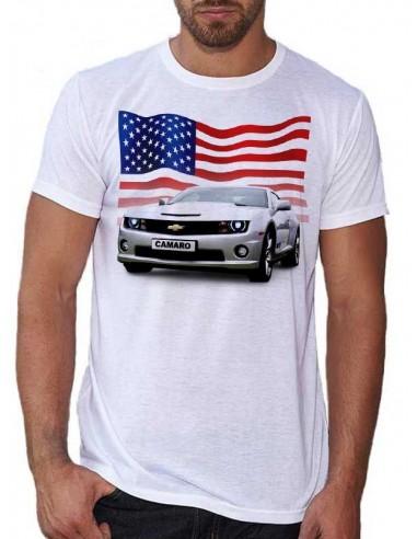 T-shirt homme Voiture Camaro