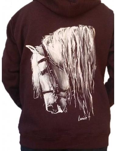 Sweat-shirt - Femme - Cheval espagnol