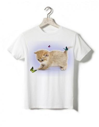 T-shirt enfant - Petit chaton