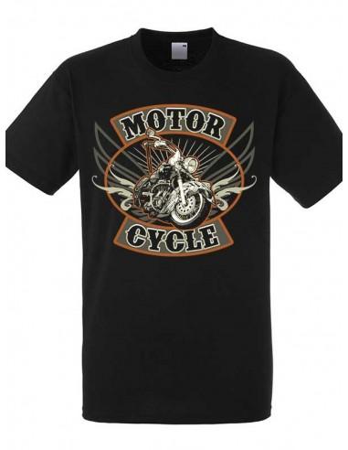 T-shirt noir homme Moto Américaine Indian