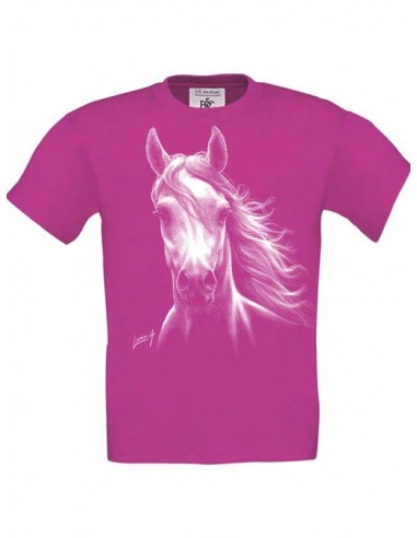 T-shirt enfant Cheval blanc
