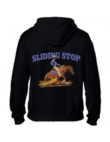 Sweat-shirt avec zip homme Western