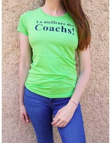 T-shirt . La meilleure des coachs