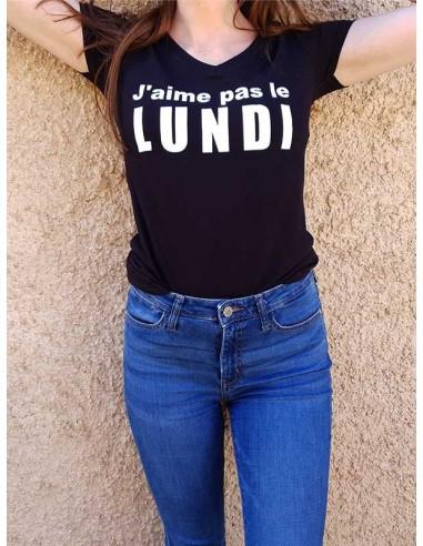 T-shirt - J'aime pas le Lundi