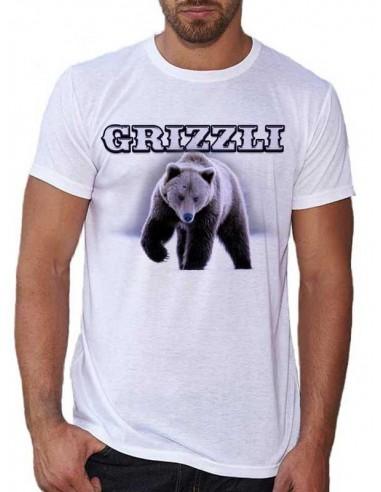 T-shirt blanc - Grizzli