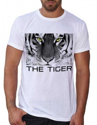 T-shirt blanc - The Tiger