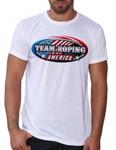 "Tee shirt homme ""Team Roping"""