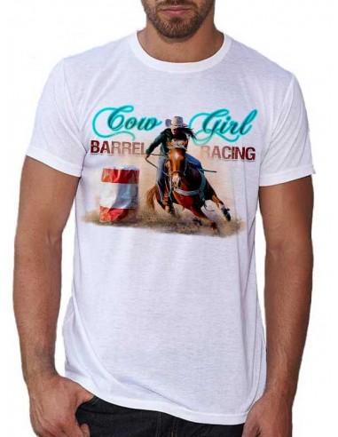 T-shirt homme Barrel racing
