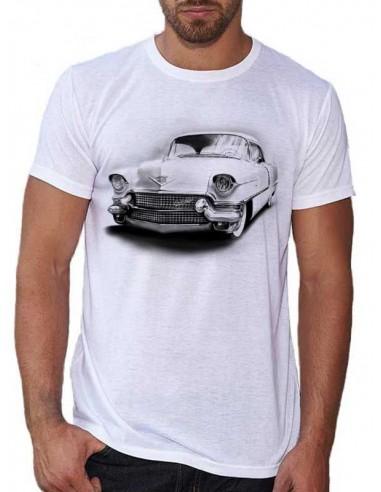 Tee shirt homme avec une Cadillac