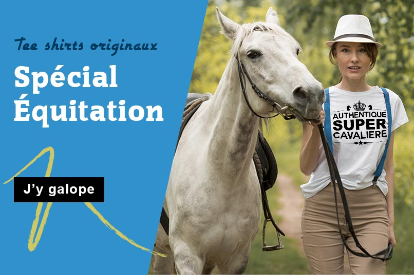 T-shirt spécial équitation