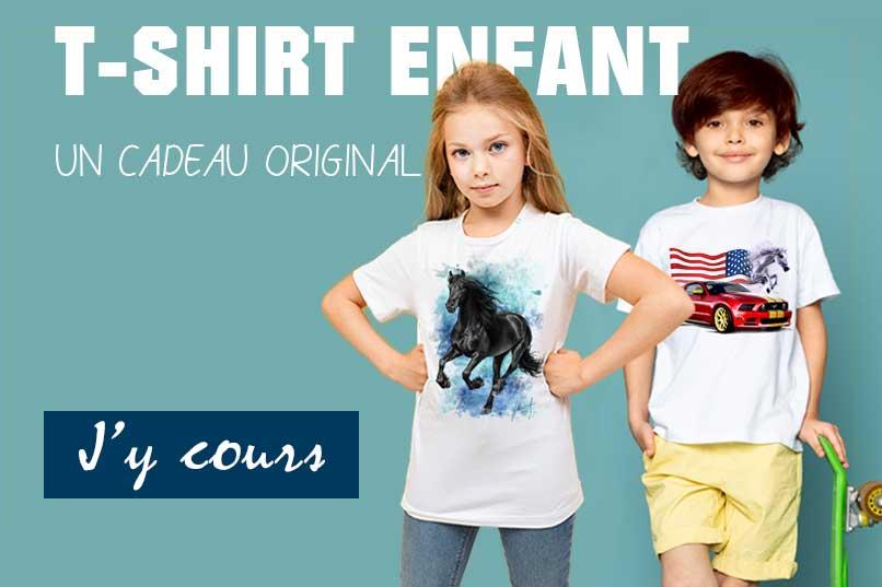 T-shirt enfant cadeaux