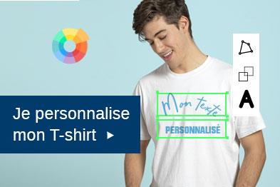 Je personnalise mon t-shirt