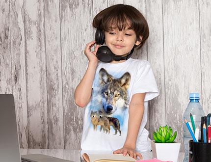 T-shirts et sweat pour enfant